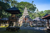 Buddhist Temple in the Monkey Forest  Ubud  Bali  Indonesia Southeast Asia  Asia