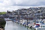 Brixham Harbour and Marina  Devon  England  United Kingdom  Europe