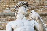 David by Michelangelo Dating from the 16th Century  Piazza Della Signoria  Florence (Firenze)