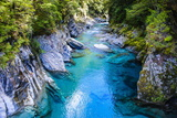 The Stunning Blue Pools  Haast Pass  South Island  New Zealand  Pacific