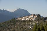 Tawang Buddhist Monastery  Himalayan Hills Beyond  Tawang  Arunachal Pradesh  India  Asia