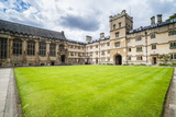 Exeter College  University of Oxford  Oxfordshire  England  United Kingdom  Europe