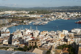 View from the Mirador Del Rei Jaume I  Ibiza Castle  Old Town