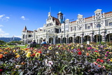 Edwardian Railway Station  Dunedin  Otago  South Island  New Zealand  Pacific