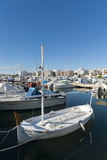 View of the Boats  Marina  Santa Eulalia Port