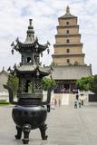 Wild Goose Pagoda (Giant Wild Goose Pagoda)  UNESCO World Heritage Site  Xian  Shaanxi  China  Asia