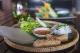 Crispy Spring Rolls  Da Nang  Vietnam  Indochina  Southeast Asia  Asia