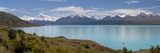 Mount Cook and Lake Pukaki  Mount Cook National Park  Canterbury Region