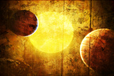 Planets and a Sun 2