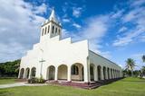 White Christian Church in Haapai  Haapai Islands  Tonga  South Pacific  Pacific