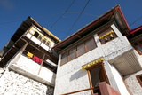 Tawang Buddhist Monastery in Early Morning Sunshine  Tawang  Arunachal Pradesh  India  Asia