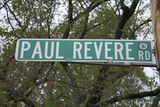 Paul Revere Road  American Revolution