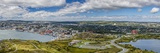 Panoramic View of St Johns Harbour and Downtown Area  St John'S  Newfoundland
