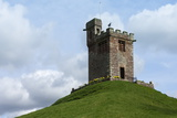 Bell Tower of St Oswalds Church  Situated on a Hill Above the Church  Kirkoswald
