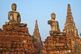 Wat Chai Wattanaram  Ayutthaya Historical Park  Ayutthaya  Thailand  Southeast Asia  Asia