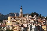 Menton  Provence-Alpes-Cote D'Azur  French Riviera  France  Mediterranean  Europe