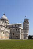 Duomo (Cathedral) and Leaning Tower  UNESCO World Heritage Site  Pisa  Tuscany  Italy  Europe
