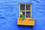 Cottage Window  Kinsale Town  County Cork  Munster  Republic of Ireland  Europe