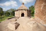 Temple in Talatal Ghar  18th Century Palace  Originally Built as an Army Base in Rangpur