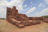 Church Ruins  Abo Salinas Pueblo Missions National Monument  Salinas Valley  New Mexico  Usa