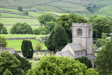 St Wilfrids Church in the Village of Burnsall in Wharfedale  Yorkshire Dales  Yorkshire  England