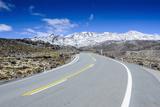 Road Leading to Mount Ruapehu  Tongariro National Park  North Island  New Zealand  Pacific