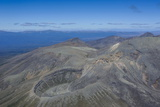 Aerial of Tongariro National Park  UNESCO World Heritage Site  North Island  New Zealand  Pacific