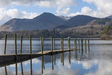 Lake Derwentwater  Barrow and Causey Pike  from the Boat Landings at Keswick
