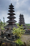 Overlook over the Pura Besakih Temple Complex  Bali  Indonesia  Southeast Asia  Asia