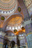 Yeni Mosque  Eminonu and Bazaar District  Istanbul  Turkey  Europe