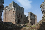The 13th Century Brougham Castle  Interior View of the Great Keep  Penrith  Cumbria  England