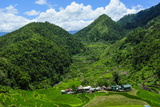 Bangaan in the Rice Terraces of Banaue  Northern Luzon  Philippines  Southeast Asia  Asia