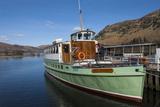 Tourist Pleasure Cruiser Lady Wakefield  Awaiting Passengers at Glenridding  Lake Ullswater