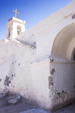 Cropped View of Chile's Oldest Church  Chiu-Chiu Village  Atacama Desert in Northern Chile