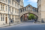 Bridge of Sighs  Hertford College  Oxford  Oxfordshire  England  United Kingdom  Europe