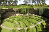 Victorian Terraced Gardens in Umpherston Sinkhole in Limestone  Mount Gambier  South Australia
