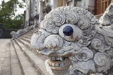 Statue at Tomb of Khai Dinh  Hue  Thua Thien-Hue  Vietnam  Indochina  Southeast Asia  Asia