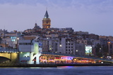 Galata Bridge  Istanbul  Turkey  Europe