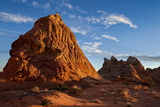 Butte at First Light  Coyote Buttes Wilderness  Vermilion Cliffs National Monument  Arizona  Usa