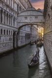 Bridge of Sighs  Venice  UNESCO World Heritage Site  Veneto  Italy  Europe
