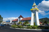 Clock Tower in Downtown Apia  Upolu  Samoa  South Pacific  Pacific