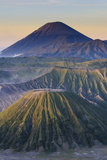 Early Sunrise at the Mount Bromo Crater  Bromo Tengger Semeru National Park  Java  Indonesia