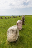 The Standing Stones in a Shape of a Ship known as Als Stene (Aleos Stones) (Ale's Stones)
