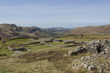 Hardknott Roman Fort Interior Looking West Along the Eskdale Valley to the Solway Firth