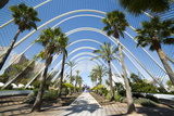 L'Umbracle (Landscaped Walk) at the City of Arts and Sciences (Ciudad De Las Artes Y Las Ciencias)