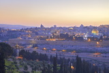 View of Jerusalem from the Mount of Olives  Jerusalem  Israel  Middle East