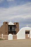San Geronimo Chapel  Church  Taos Pueblo  Taos  New Mexico  United States of America  North America