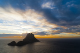 Sunset  Es Vedra and Vedranell  Ibiza  Balearic Islands  Spain  Mediterranean  Europe
