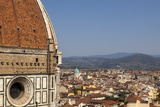 The Dome of Santa Maria Del Fiore and Roof Tops  Florence  Tuscany  Italy  Europe