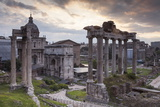 The Roman Forum (Foro Romano)  Rome  Lazio  Italy  Europe